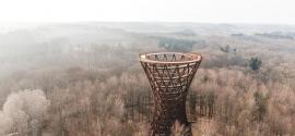 Forest Tower ofrece nuevas vistas de la naturaleza a 45 metros sobre el suelo