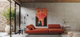 Loft se abre a la naturaleza con mucho arte y diseño